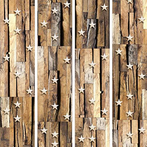murando Papel Pintado PURO 10m Fotomurales tejido no tejido rollo Decoración de Pared decorativos Murales XXL moderna de Diseno Fotográfico Madera Estella f-C-0004-j-b