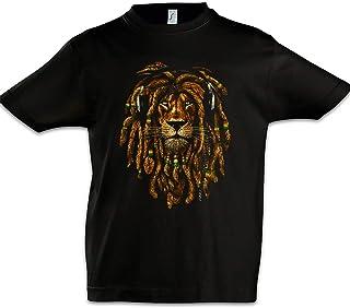 Urban Backwoods Rastafari Lion IV Niños Chicos Kids T-Shirt