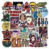 Stranger Things Drawing Stickers Set Refrigerator Stickers Luggage Skateboard Motorcycle Laptop Waterproof Stickers 50Pcs