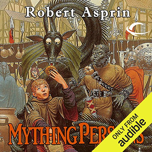 Mything Persons     Myth Adventures, Book 5              By:                                                                                                                                 Robert Asprin                               Narrated by:                                                                                                                                 Noah Michael Levine                      Length: 4 hrs and 45 mins     366 ratings     Overall 4.6