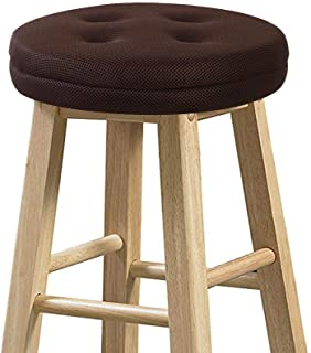 """Best Bar Stool Cushions, baibu Super Breathable Round Bar Stool Cover Seat Cushion Brown 14"""" - Cushion Only Review"""