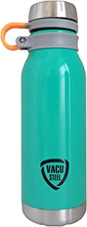 Cello Storm Stainless Steel Bottle, Aqua, 500 ml
