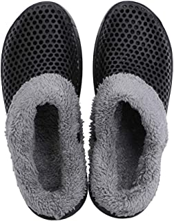 Cooga Womens House Slippers Sticking Lining Warm Fleece Clogs