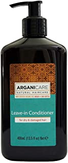Arganicare Leave in Conditioner for Dry & Damaged Hair Enriched with Organic Moroccan Argan Oil and Shea Butter (13.5 Fluid Ounce)