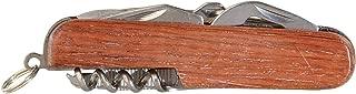 Thirsty Rhino Util, Rosewood Utility Pocket Knife, 7-in-1 Multi-Function Multi-Tool, Rosewood (Set of 1)