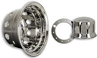 Hansen Styling Parts 2/unidades Tapacubos 22,5/pulgadas universal para brei treifen 11,75/x 22,5/con et 120/mm para camiones