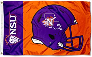 College Flags and Banners Co. Northwestern State Demons Football Helmet Flag
