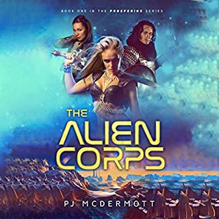 The Alien Corps audiobook cover art