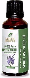Spike Lavender Oil (Lavandula Latifolia) Essential Oil 100% Pure Natural Undiluted Uncut Therapeutic Grade Oil 3.38 FL.OZ