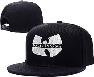 Wu-Tang Clan Hip-Hop Band Logo Adjustable Snapback Caps Embroidery Hats