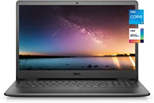 2021 Newest Dell Inspiron 3000 Premium Laptop, 15.6 FHD Display, Intel Core i5-1135G7, 16GB DDR4 RAM, 256GB PCIe SSD, Online Meeting Ready, Webcam, WiFi, HDMI, Windows 10 Home, Black