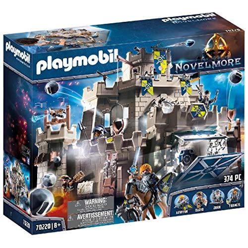 PLAYMOBIL Novelmore 70220 Große Burg von Novelmore, Für Kinder von 5-10 Jahren