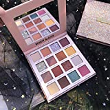 New 16 Colors Long Lasting Matte And Shimmer Eyeshadow Palette Collection(1)