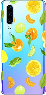 Oihxse Compatible with Huawei Honor 8c Crystal Clear Case,Ultra-Thin Slim Soft TPU Silicone Gel,Shockproof Anti Scratch Bu...