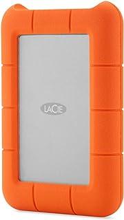 LaCie 莱斯 Rugged Raid-4 TB (2 x 2 TB), 便携式外部硬盘驱动;Raid 0 & Raid 1, USB 3.0. 含集成Thunderbolt连接线-STFA4000400