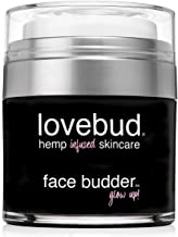 Lovebud Face Budder Anti-Aging Moisturizer For Face & Eye Area (For All Skin Types) with Hemp Oil, Aloe Vera, Vitamin B & E. Fights Appearance of Fine Lines. Instantly Brightens Dull Skin.