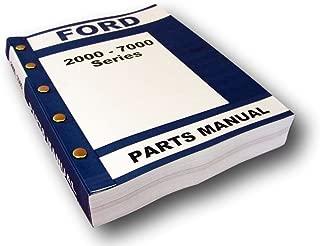 ford 4500 backhoe parts