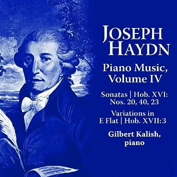 Joseph Haydn: Piano Music Volume IV