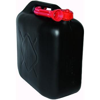Benzinkanister 20L Kunststoff schwarz UN-geprüft Reservekanister