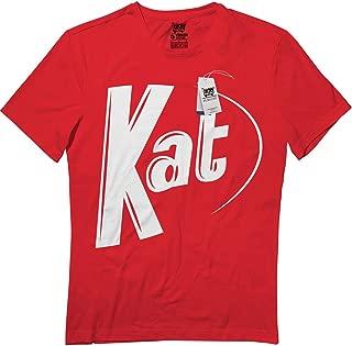 Flagtee Kat Halloween Candy Couple Matching Girlfriend Boyfriend T-Shirt