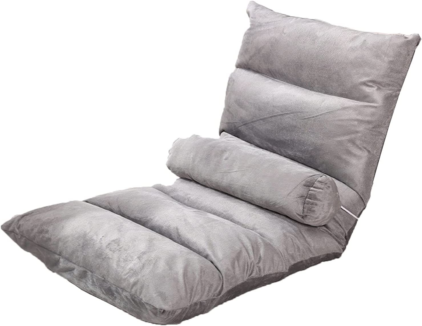 LHQ-HQ 6 Grid Dark Direct sale of Ranking TOP4 manufacturer Gray Lazy Recliner Sofa Folding Chair
