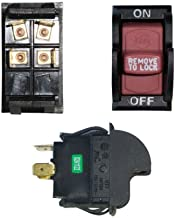 Superior Electric SW7A On-Off Toggle Switch - Delta 489105-00, 1343759 (Optional Lock) # SW7A
