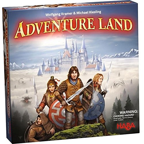 HABA Adventure Land  an Exciting Strategy Board Game for Ages 10 and Up Made in Germany