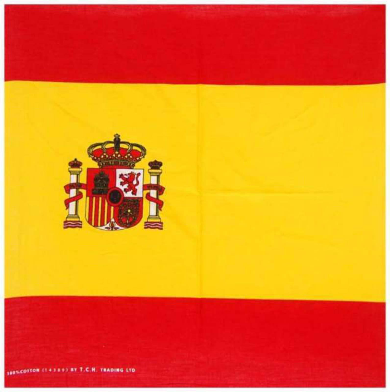 Doktor Hardstuff Bandana bufanda bandera de España: Amazon.es: Jardín
