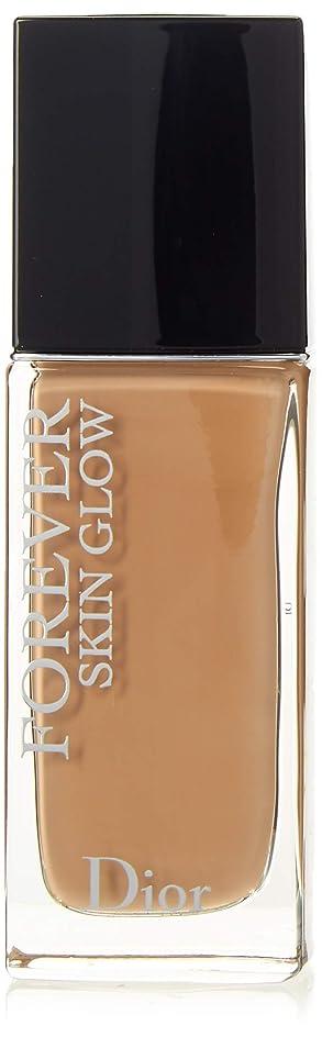 透明に予測する必要としているクリスチャンディオール Dior Forever Skin Glow 24H Wear High Perfection Foundation SPF 35 - # 3.5N (Neutral) 30ml/1oz並行輸入品