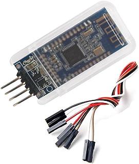 DSD TECH HM-10 Master y Slave Bluetooth 4.0 LE iBeacon Módulo Compatible con iPhone y iPad con 4 PIN Dupont Cable para Ard...