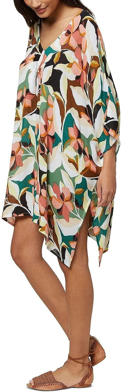 O'NEILL Juniors' Tessa Printed Cover-Up Dress Multicolor