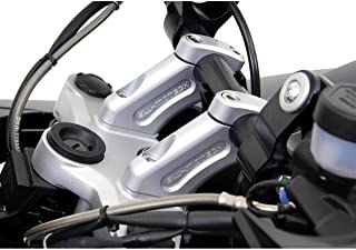 SW-Motech 08-12 BMW R1200GS Barback Handlebar Risers (20mm / 30mm) (Silver)