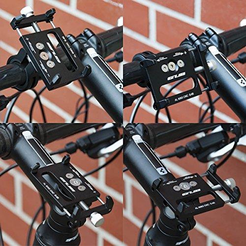 GUB Universal Bike Fahrrad Motorrad Halterung für Handy, Smartphone, Navi usw. - 8