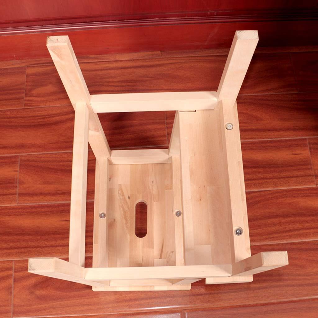 Escaleras multifunción Escalera De Madera Banco De Madera Escalera Taburete Lavar Taburete Bañera Taburete Zapatos De Segundo Orden Taburete Bajo Escalera Interior Interior: Amazon.es: Hogar