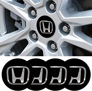 4 x 56.5mm Car Lettering BBS Wheel Center Cap Sticker Wheel Emblem Badge Logo Stickers fit Honda Accessory