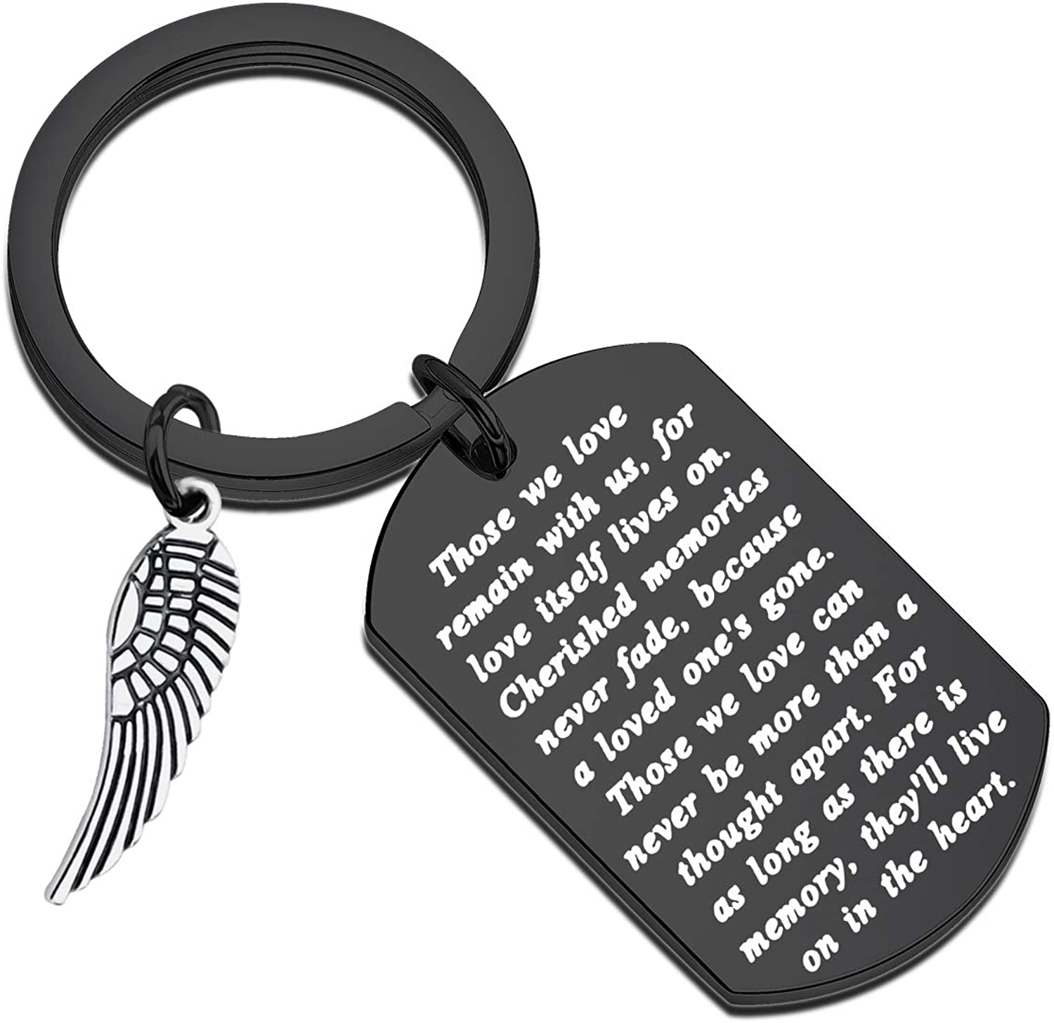 FUSTMW Memory Keychain Loving Gifts Jewelry in of Da Inventory cleanup selling sale Loss Cheap mail order shopping