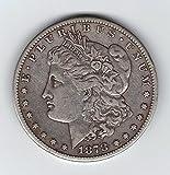 1878-CC Morgan Dollar Carson City Mint Extra Fine Condition Photo Is A Stock Photo 90% Silver