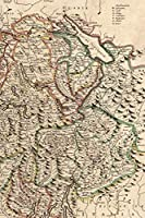 1721 Map of Switzerland - A Poetose Notebook / Journal / Diary (50 pages/25 sheets) (Poetose Notebooks)