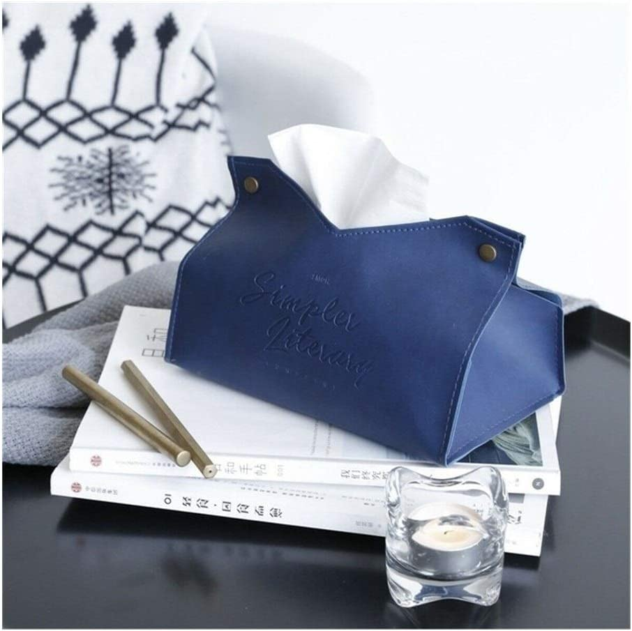 Leather Tissue Box Free Shipping New Limited time cheap sale Napkin Cover Colo Car Office Room