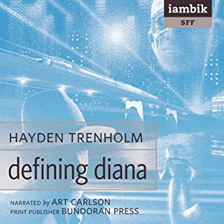 Defining Diana audiobook cover art