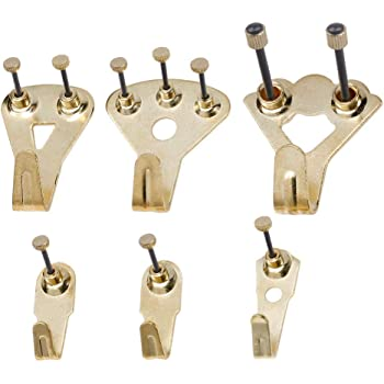 PACK OF 50 BLACK HARDENED STEEL DRIVE-IN HOOKS Outdoor Decorations Hanging Nail