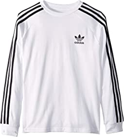 3-Stripes Long Sleeve (Little Kids/Big Kids)