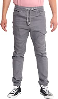 Best men's vintage drop crotch denim jogger pants Reviews