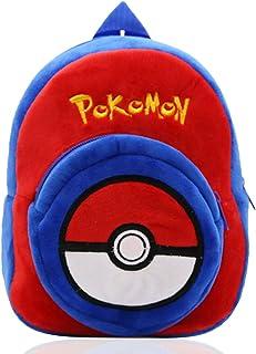 Pokemon Mochila para niños Pikachu Regalos para bebés Mochila para niños pequeños Mochila Pokemons School Bag Characters Mochila para niños(Azul)