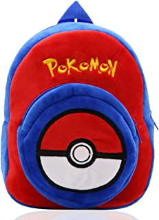 Pokemon Sac à Dos pour garçons - YUESEN Pokemons Peluche Enfants Sac d'école pour Tout-Petits, Porte-Sac pour Enfant de 1 ...