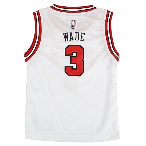 size 40 9489e e3fac Dwyane Wade Jersey: Amazon.com
