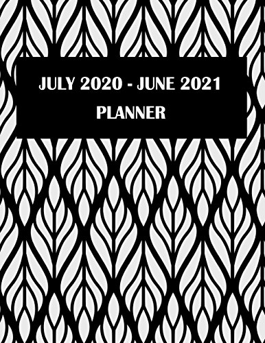 July 2020-June 2021 Planner: Calendar Book July 2020-June 2021 Weekly/Monthly/Yearly Calendar Journal, Large 8.5