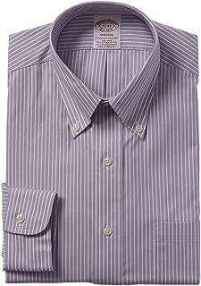 Mens 1818 Madison Fit Dress Shirt, 16 35, Purple
