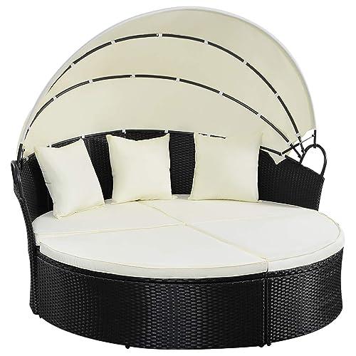 Astounding Round Patio Lounger Amazon Com Frankydiablos Diy Chair Ideas Frankydiabloscom