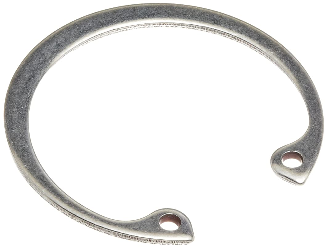 Standard Internal Retaining Ring, Tapered Section, PH15-7 Stainless Steel, Passivated Finish, 1-7/8